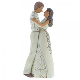 """Our Love Is Everlasting"" Couple embracing H23,5cm Jim Shore 6001557"