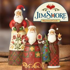Jim Shore Kerstmannen - Santa's