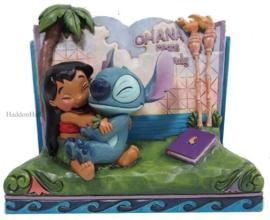 Stitch & Lilo Storybook H13cm Jim Shore 6010087 Lilo en Stitch