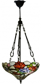 5766 FCL Hanglamp Tiffany Ø40cm  Rosa