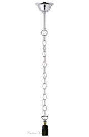 70385 Ophanging voor hanglamp Zilverkleur 1xE27