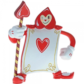 Card Guard Ace of Hearts H13cm Disney by Miss Mindy A29380