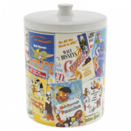 Disney Collage Cookie Jar H24cm Disney Ceramics