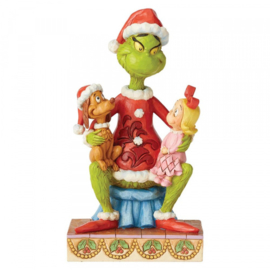 Grinch with Cindy & Max H18cm Jim Shore 6004064