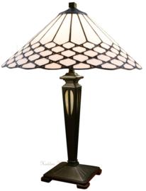 5887 Tafellamp Tiffany H54cm Ø40cm Wilson