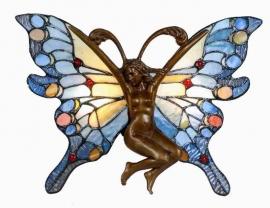 "9313 Wandlamp Tiffany  ""Vlinder"""