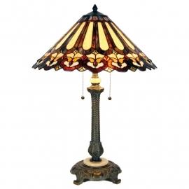 5614 Tafellamp Tiffany H80cm Ø54cm Greystoke