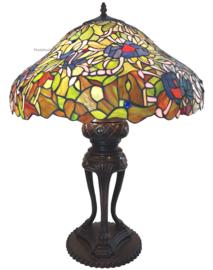 6055 Tafellamp Tiffany H83cm Ø57cm Olite