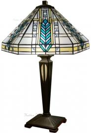 """T044M FB20M Tafellamp Frank Lloyd Wright H54cm Ø41cm """"Lloyd"""""""