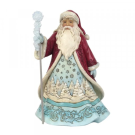 Winter Wonderland Santa with Snowflakes - Jim Shore 6009485