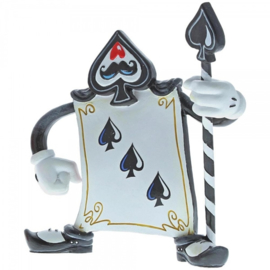 Card Guard 3 of Spades H13cm Disney by Miss Mindy A29379