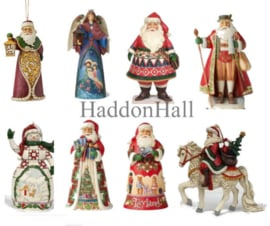 Set van 8 Jim Shore Hanging Ornament H12cm