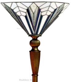 T026M Vloerlamp H185cm met Tiffany kap Ø41cm Astoria