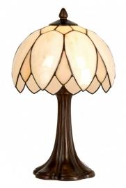 5135 Tafellamp Tiffany H41cm Ø26cm Lelie