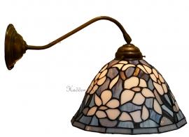 5826 410 Wandlamp met Tiffany kap Ø26cm Marta