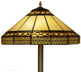 V465 Vloerlamp H156 met Tiffany kap Ø45cm Barok