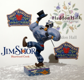 "Aladdin ""Born Showman"" Genie H21cm Jim Shore 6001271"