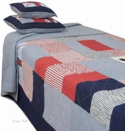 Q086 Clayre & Eef Bedsprei 180 x 260 cm Quilt Patchwork