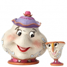 "MRS. POTTS & CHIP ""A Mother's Love"" H 11cm Jim Shore 4049622"