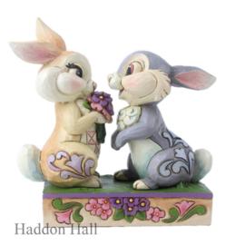 Thumper & Blossom H13cm Jim Shore  6005963
