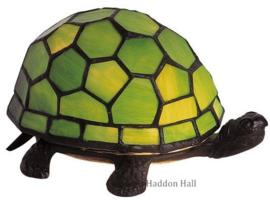 "Tiffany lamp ""Schildpad"" B22cm Groen"