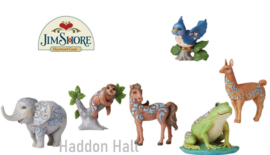 Mini Animals - Set van 6 - H9cm - Jim Shore
