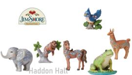 Mini Animals - Set van 6 - H9cm - Jim Shore