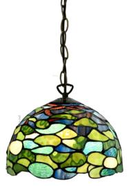 8124 97 Hanglamp Tiffany Ø25cm Hortensia