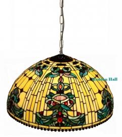 5424 Hanglamp Tiffany  Ø50cm Blue-Oyster