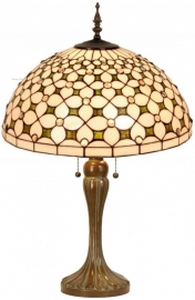5300 5571 Tafellamp Tiffany H72cm Ø50cm Jewel