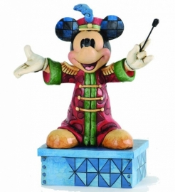"""MICKEY """"The Band Concert""""  H17 cm JIM SHORE 4033284 uit 2013"""