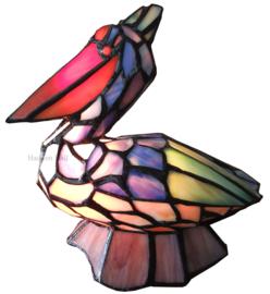 6003 Tiffany lamp H31cm Pelican