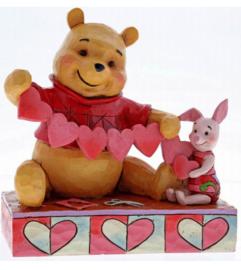 "WINNIE THE POOH ""Handmade Valentines"" H 12cm Jim Shore 4059746"