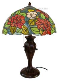 KT164 Tafellamp Tiffany H58cm Ø40cm Dalia