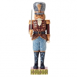 """Merry Marching""  H25,5cm Jim Shore Victorian Nutcracker"