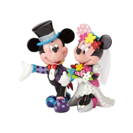 Mickey Mouse & Minnie Mouse Wedding Figurine by Britto 4058179