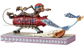 COYOTE & ROAD RUNNER B25cm Explosive Chase  Jim Shore  4049387