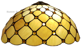 LT16668 Kap Tiffany Ø40cm Golden Pearl