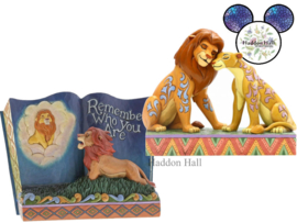 Lion King Simba & Nala - Storybook - Set van 2 Jim Shore beelden