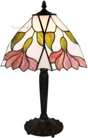 TS07M Tafellamp Tiffany H47cm 25x25cm Botanica