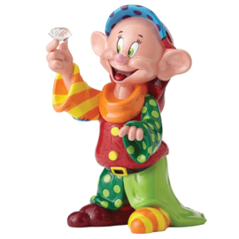 Dopey 80th Anniversary H 29cm Jubileum Disney by Britto 4055687.