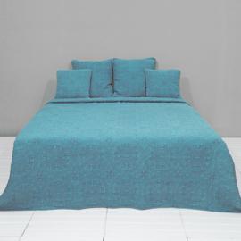 Q181GR Clayre & Eef Bedsprei 230 x 260 cm + 4 Kussens