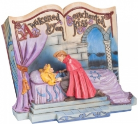 "Aurora - Doornroosje  ""Enchanted Kiss"" Storybook Jim Shore 4043627"