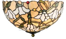 5923 80 Plafonniere Tiffany Ø40cm Magnolia