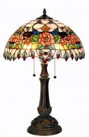 5530 Tafellamp Tiffany H64cm Ø42cm Huffington