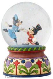 MICKEY & MINNIE Nutcracker Musical  H18cm Jim Shore 6000944 Disney Traditions