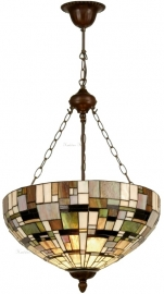 1143 8842 Hanglamp Tiffany Ø50cm  Art Deco Green