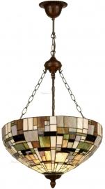 1143 8842 Hanglamp Tiffany Ø50cm  Art Deco Green