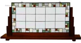 5914 Voorzetraam Tiffany op Voet H49cm B108cm Poiret