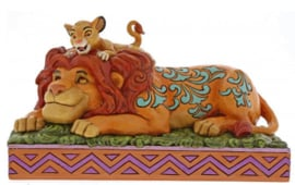"Lion King SIMBA & MUFASA  ""A Father's Pride"" H11cm Jim Shore 6000972"
